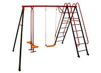 Качели детские Солнышко с лестницей