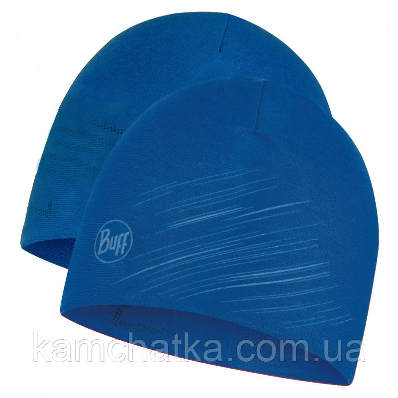 Шапка BUFF® Microfiber Reversible Hat r-solid olympian blue