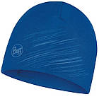 Шапка BUFF® Microfiber Reversible Hat r-solid olympian blue, фото 3