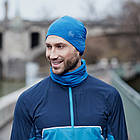 Шапка BUFF® Microfiber Reversible Hat r-solid olympian blue, фото 7
