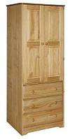 Шкаф из массива дерева 002