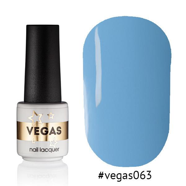 Гель лак №063  Vegas 6 мл