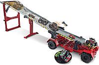 Игровой набор Хот Вилс Монстер тракс Передвижной трамплин Hot Wheels Monster Trucks Downhill Race & GO