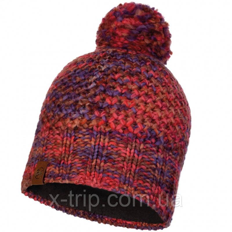Шапка BUFF® Knitted & Polar Hat MARGO maroon