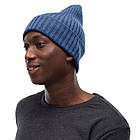 BUFF® Merino Wool Knitted Hat NORVAL denim, фото 2