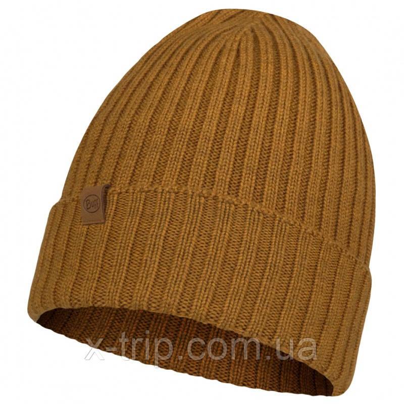 BUFF® Merino Wool Knitted Hat NORVAL mustard
