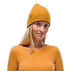 BUFF® Merino Wool Knitted Hat NORVAL mustard, фото 2