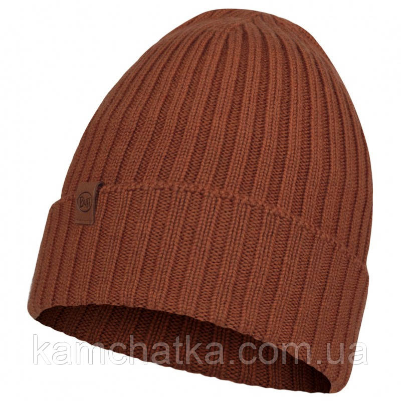 BUFF® Merino Wool Knitted Hat NORVAL rusty