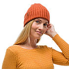 BUFF® Merino Wool Knitted Hat NORVAL rusty, фото 2