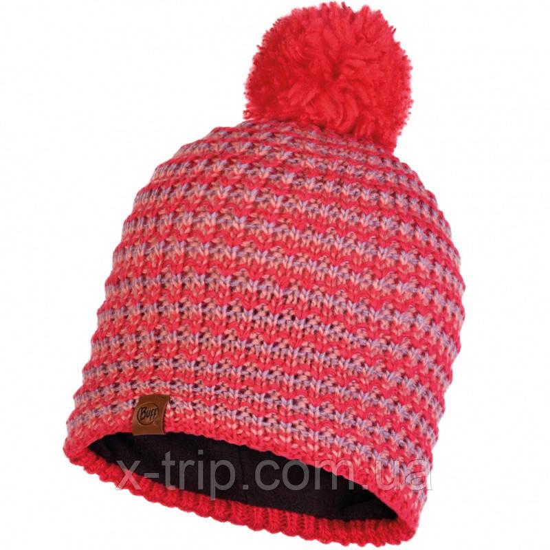Шапка BUFF® Knitted & Polar Hat DANA blossom red