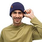 BUFF® Knitted Hat KORT night blue, фото 2