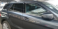Дефлекторы окон Mercedes Benz M-klasse (W166) 2011 | Ветровики  Мерседес-Бенц M-класс