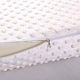 Ортопедическая подушка с эффектом памяти для здорового сна «Memory Pillow» White (WJ12) (12663), фото 3