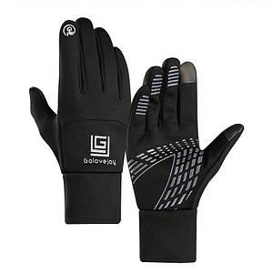Спортивные перчатки с флис сенсорны качество перчатки для Унисекс только оптом