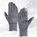 Спортивні рукавички з фліс сенсорны якість Angel рукавички для Унісекс тільки оптом, фото 4