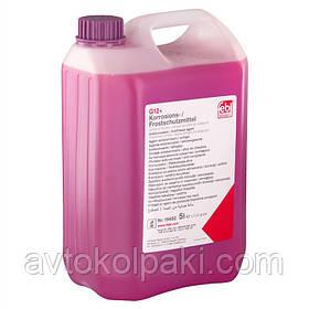 Антифриз Febi G12+ фиолетовый концентрат 5л