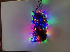 Светодиодная электрогирлянда 10м,220в.180 лампочек, фото 3