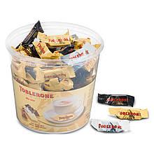 Шоколадные конфеты ассорти Toblerone (Тоблерон) ведро, 900 грамм