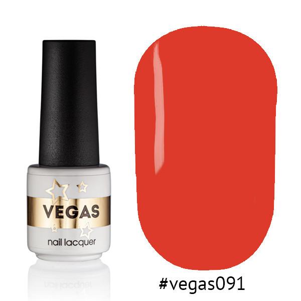 Гель лак №091  Vegas 6 мл