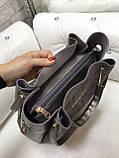 Сумочка комбинированная нат.замша/кожзам качество люкс арт.1680, фото 6
