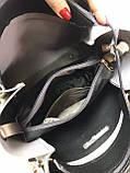 Сумочка комбинированная нат.замша/кожзам качество люкс арт.1680, фото 8