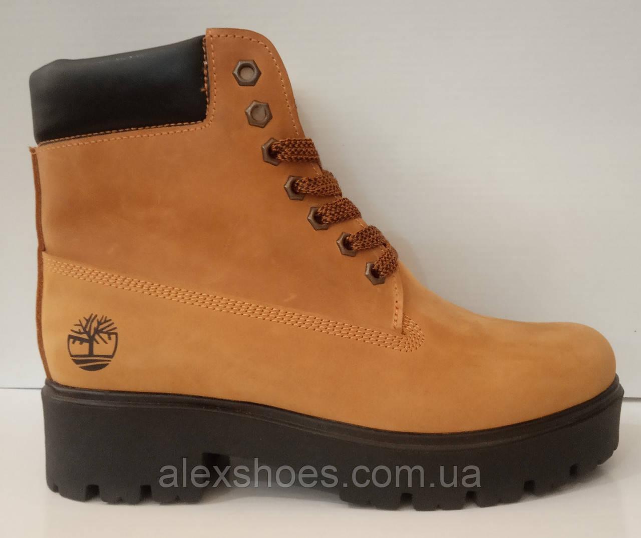 Ботинки женские зимние кожаные от производителя модель ЛИН860-5