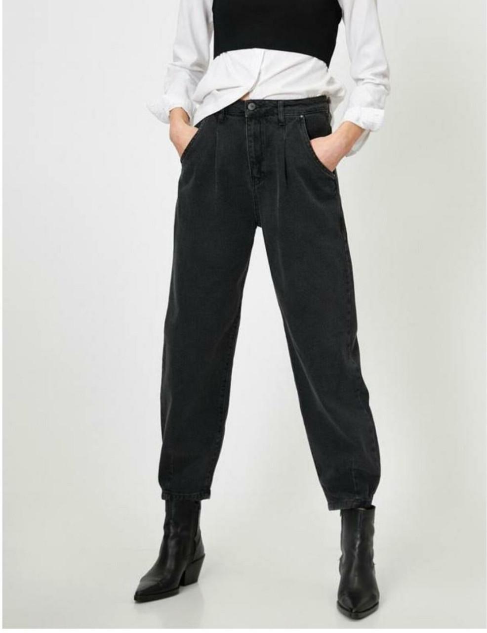 Повседневные джинсы баллоны стрейч норма (26-31)
