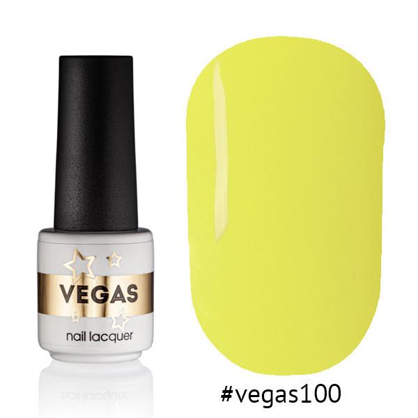 Гель лак №100  Vegas 6 мл