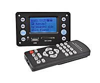 Встраиваемый MP3 плеер, FM модуль USB microSD,Bluetooth 4.2 12В
