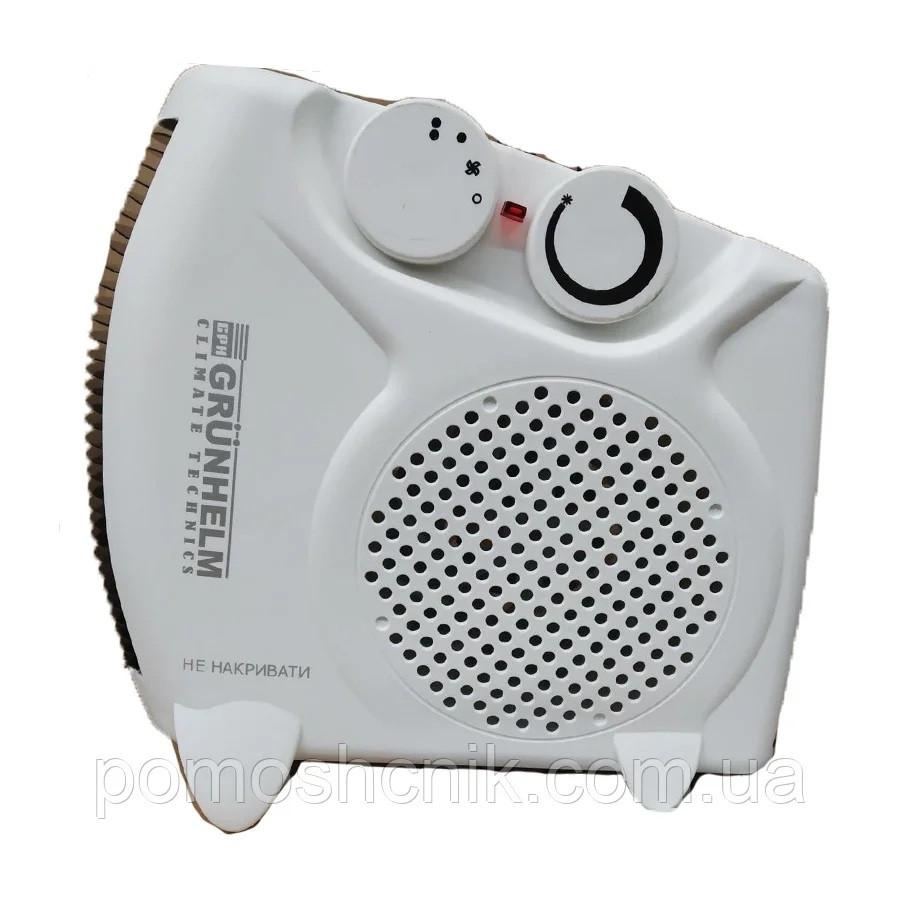 Тепловентилятор спиральный Grunhelm FH-06