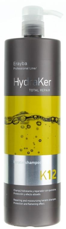 Шампунь кератиновый Erayba HydraKer K12 Keratin Shampoo (1л.)