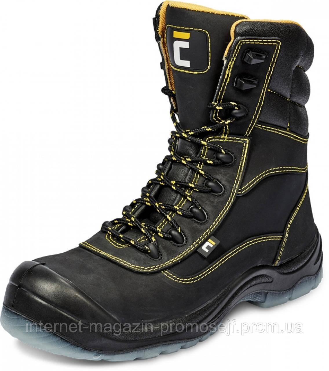 Ботинки зимние защитные с берцами BK TPU MF S3 CI SRC