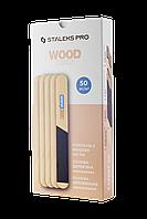 Пилка деревянная одноразовая прямая (основа) EXPERT 20 (50 шт), WBE-20