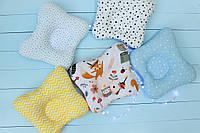 Ортопедична подушка для немовляти , ортопедическая подушка для новорожденных 2529