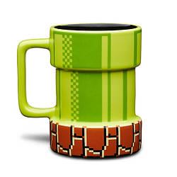 Кружка 3D керамическая Супер Марио Super Mario Apertures