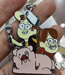 Брелок Гравити Фолз Gravity Falls 34.28