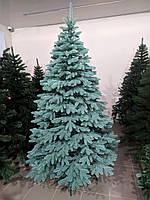 Елка искусственная литая Бельгийская зеленая, голубая (высота 1,5 м)
