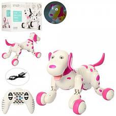 Интерактивная собачка на радиоуправлении 777-338, розовая, фото 2