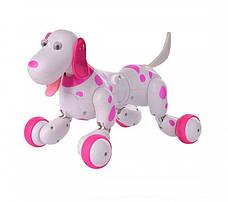 Интерактивная собачка на радиоуправлении 777-338, розовая, фото 3