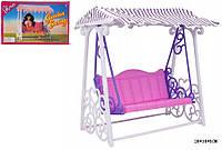 """Мебель """"Gloria"""" 98016 (48шт/4) для сада, качеля, аксессуары, в кор. 28*18*5 см"""