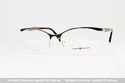 Жіноча полуободковая оправа для окулярів Tommy Fashion