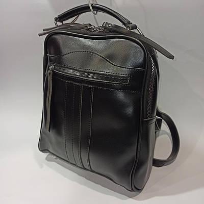 Элегантный женский кожаный рюкзак.Модель5816-6