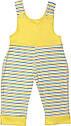 Дитячий костюм комплект для новонароджених ріст 80 9-12 міс на хлопчика дівчинку трикотажний інтерлок жовтий, фото 5