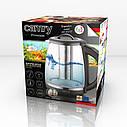Электрочайник Camry CR 1290 стеклянный 2,0 л с заварочным узлом и контролем температуры., фото 7