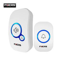 Беспроводной влагозащищенный дверной звонок Fuers. Умный звонок для двери с 32 мелодиями
