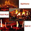Эффекты пламени электрокаминов Dimplex