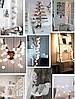 Новогодние гирлянды, хлопковые шары, 6 Метров, фото 7