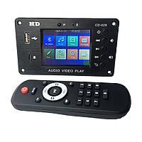 Встраиваемый MP3 плеер, FM модуль USB microSD,Bluetooth 5,0 12В