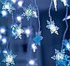 "Новогодняя гирлянда ""Звездочка"" 49 LED, Размер 1,5x1,5 м, фото 3"