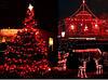 Новогодняя гирлянда 100 LED,Красный , Длина 8 Метров, фото 4